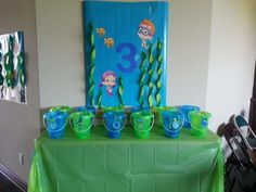 Bubble Guppies Birthday Party Ideas | Photo 11 of 23 | Catch My Party