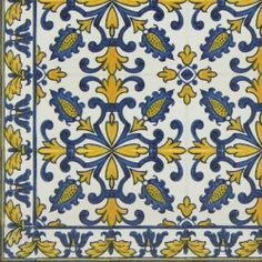 Hand Painted Decorative Tiles Enchanting Tmp 2757 Portuguese Hand Painted Decorative Tile  Для Квилта Design Decoration