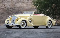 1937 Packard Twelve 1507 Coupe Roadster Informations About 1937 Packard Twelve 1507 Coupe Roadster P Convertible, Roadster, Classy Cars, Cabriolet, Vintage Trucks, Vintage Auto, Us Cars, Car Wheels, Classic Trucks