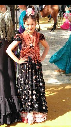 Flamenco Dancers, Daily Dress, Dress Tutorials, Kids Outfits, Dressing, Plus Size, Folklore, Inspiration, Clothes