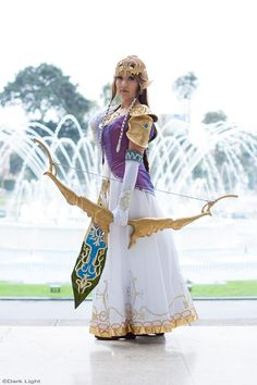 Princess Zelda Cosplay - TLOZ Twilight Princess by *SusanEscalante on deviantART