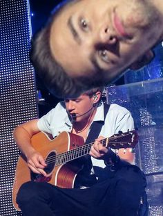 Niall in Little things Live then there's liam