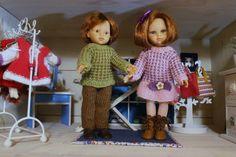 Tuto robe pour Paola-Reina, Chéries, Minouche + Tuto pull et pantalon pour Paola-Reina, Chéries, Minouche.