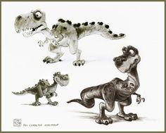 Toni Reyna - Character Design Page