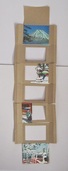UnBound: A Paper Art Blog: How to Make a Tunnel Book Gina Pisello #tutorial