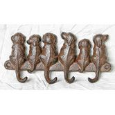 Found it at Temple & Webster - Dog Hanger in Antique Rust Hall Stand, Hallway Furniture, Online Furniture, Wall Hooks, Temple, Hanger, Antiques, Rust, Dog