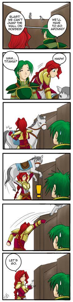 lol Fire Emblem beasts ftw FE: She's a Maniac by KumiKoalaStar.deviantart.com on @deviantART
