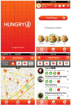 Hungry4 - Order and pay the easy way! - Mobile Awards