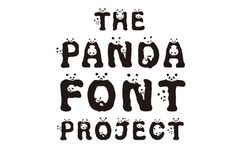 WWF's+New+Panda+Font+Is+The+Cutest+Font+To+Ever+Font