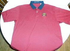 WHISTLING STRAITS PGA 2004 Men's Golf Polo Shirt Joey Rodolfo XXL Combed Cotton