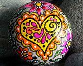 Peaceful Fairy Tale / Painted Rock / Sandi Pike Foundas / Cape Cod