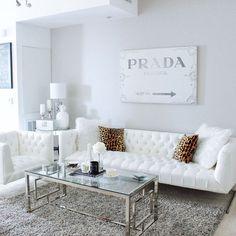 Grey and white decor living room modern white living room furniture sets be Luxury Living Room, White Living Room Decor, Apartment Decor, Couches Living Room, Interior, White Living, White Decor, White Furniture Living Room, Room Interior