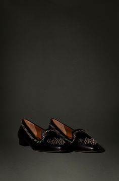 Studded Slips -- Massimo Dutti NYC Collection.