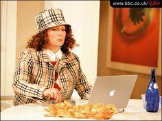 Edwina Monsoon- my British twin.....