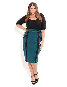 Plus Size Skirts | Plus Size Pencil, Mini & Long Skirts | Sonsi