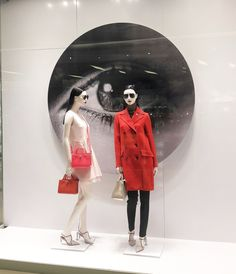 """DIOR, Siam Paragon, Bangkok, Thailand, """"Beauty is in the Eye of the Beholder"""", photo by Joy Ly, pinned by Ton van der Veer"""