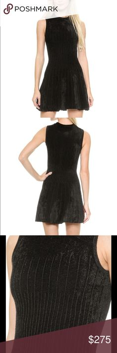 SALE Torn by Ronny Kobo Vanda Dress Black mini dress made from chenille, size small, sleeveless, unlined, never been worn! This dress is super soft and comfortable to wear, easy to dress up or down for many occasions. Torn by Ronny Kobo Dresses Mini