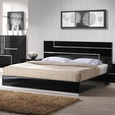Ultra-modern & Contemporary Bedroom Furniture Sets , Shop for Luxurious Modern Bedroom Furniture, Beautiful Contemporary Beds, Modern Platform Beds & More. Modern Bedroom Furniture, Apartment Furniture, Bed Furniture, Furniture Design, Luxury Furniture, Furniture Stores, Glass Furniture, Rustic Furniture, Sunroom Furniture