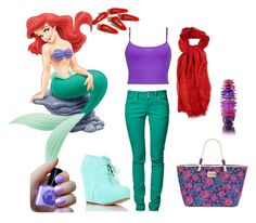 """ARIEL - A Modern Disney Princess"" by anra ❤ liked on Polyvore"