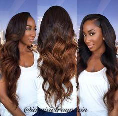 Soft ombre hair