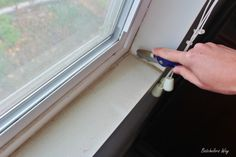 how to install window sill and trim