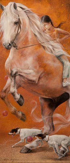 Contemporary Spanish Artist - Chelin Sanjuan ~ Blog of an Art Admirer