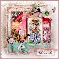 Crafting Life's Pieces: Spring is Back - Sarah Kay Card