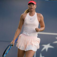 a3f4a0323a55 Maria Sharapova Holds Court in Crystal-Embellished Black Dress at U.S. Open  — See Her Best Tennis Outfits
