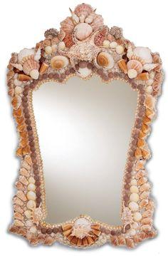 Beachcomber Shell Mirror