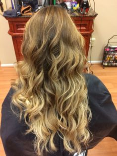 Intense ombre with balayage highlights by Hair Trendz Stylist Esy #ombre #intenseombre #balayagehighlights #balayage