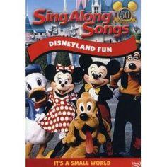 Sing Along Songs - Disneyland Fun --- http://www.pinterest.com.tocool.in/g9