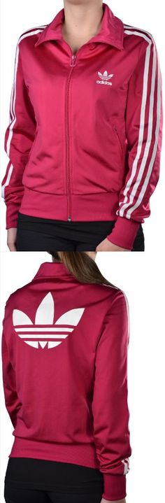 Adidas Women's Originals Firebird Track Top Jacket-Power Pink - Adidas Women's Originals Firebird Track Top JacketThe Firebird tracksuit is one of the most iconic adidas® silhouettes of all time! With its relaxed fit that appeals to the masses, you'll be one step... - Track & Active Jackets - Apparel -