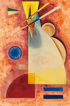Wassily Kandinsky - Ineinander (Intermingling), 1928, gouache, watercolour and pen and ink on paper