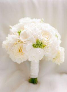 Wedding Bouquets : Picture Description Classic white rose wedding bouquet: www.stylemepretty… | Photography: Peter & Veronika – peterandveronika…. - #Bouquets https://weddinglande.com/accessories/bouquets/wedding-bouquets-classic-white-rose-wedding-bouquet-www-stylemepretty-photography-peter/