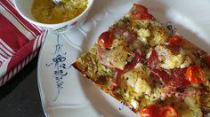Bad Mama's Kitchen: Gluteeniton ja jauhoton pizza - kesäkurPITSA