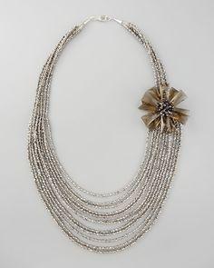 Panacea Multi-Strand Necklace - Neiman Marcus
