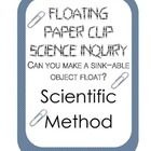 How can you make a paper clip float??? Students are given materials and have to figure out how to use them to get a paper clip to float. Great intr...