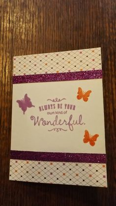#CTMH #Card I love shimmer trim! All the products can be found on my website (while available). www.LaurenKelly.ctmh.com