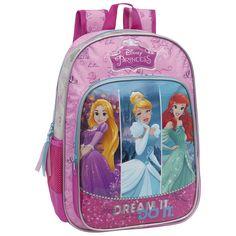 Tus princesas favoritas en una súper mochila de Disney para que en clase te sientas como una verdadera estrella.
