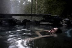 natural hot springs east of eugene, oregon, called cougar hot springs. the best road trip of my life!