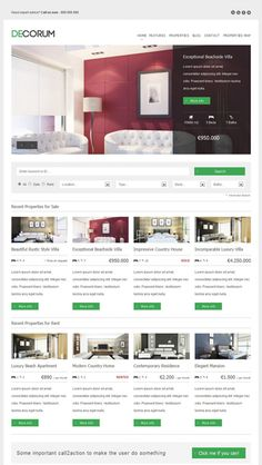 deCorum Real Estate WordPress Theme