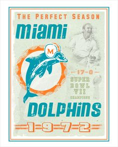 """Available in sizes: 8"""" x 10"""" 11"""" x 14"""" 16"""" x 20"""" 22"""" x 28"""" Miami Dolphins Memes, Miami Dolphins Funny, Nfl Dolphins, Dolphin Quotes, Nfl Football Teams, Football Art, Football Memes, Sports Teams, Dolphins Cheerleaders"""