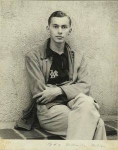 A young Gore Vidal in Guatemala in 1947 From The Gore Vidal Papers, Courtesy of the Houghton Library, Harvard University