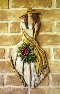 15591983 1831532420400974 1072187108 n, Sculpture Painting, Ceramic Painting, Ceramic Art, Diy Crafts Slime, Clay Crafts, Ceramica Artistica Ideas, Ceramic Sculpture Figurative, Clay Wall Art, Clay Art Projects