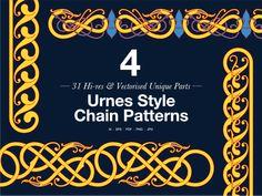 » Graphics Sets Viking Age Art, Viking Ornament, Viking Images, Viking Books, Viking Designs, Nordic Tattoo, Ornaments Design, Art Series, Graphic Design Projects