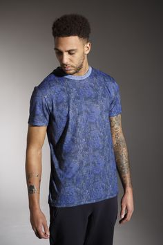 The ' MARGERA' Tee - £25 - http://www.voijeans.com/blackout/margera-tshirt-dazzling-blue.html