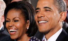 barack and michelle | Michelle and Barack Obama: but is it all smiles behind the scenes ...