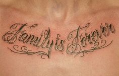 Tattoo Quotes For Men About Family