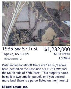 Land For Sale - Brandy Criss Engler - (785)383-3169 - bbmcriss@yahoo.com - Ek Real Estate Inc. ● https://brandysellskansas.blogspot.com/ & http://ekhomes.com ●