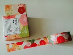 Chinese Plum Flower Boxed Washi Tape by GoatGirlMH on Etsy